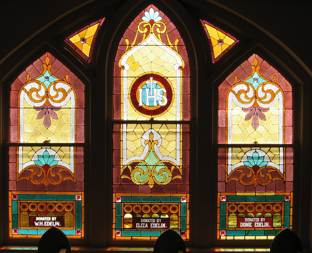 Stained Glass Windows - St  Martin of Tours Catholic Church